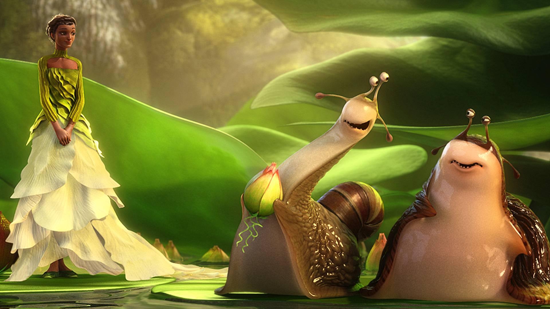 小蜗牛爱上人类女孩,为了女神出生入死,一部