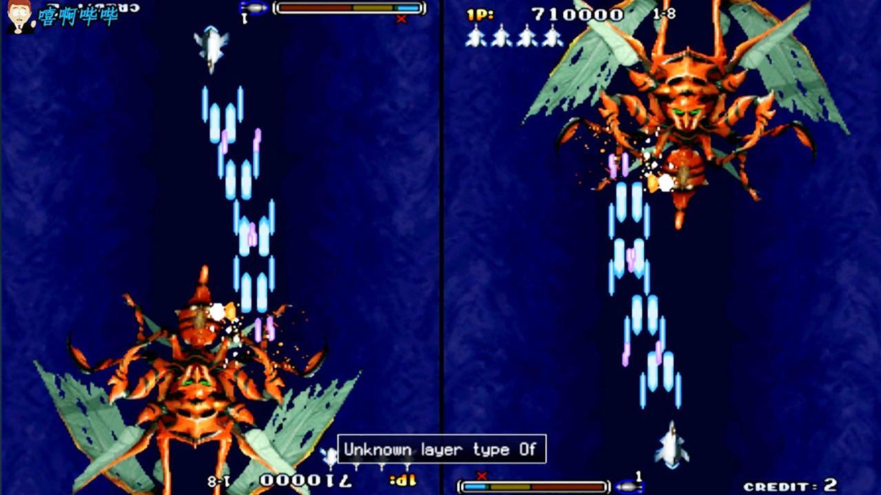 《彩京1945三代》隐藏高达战机, 最终关底是杀人蜂!