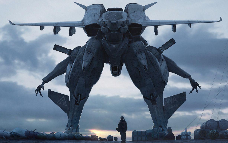 坠好看的游戏CG和宣传视频: 机甲02
