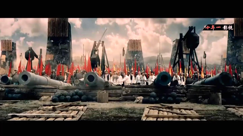 这才叫战争电影, 8000守军对战200000军队, 场面火爆震撼惨烈!