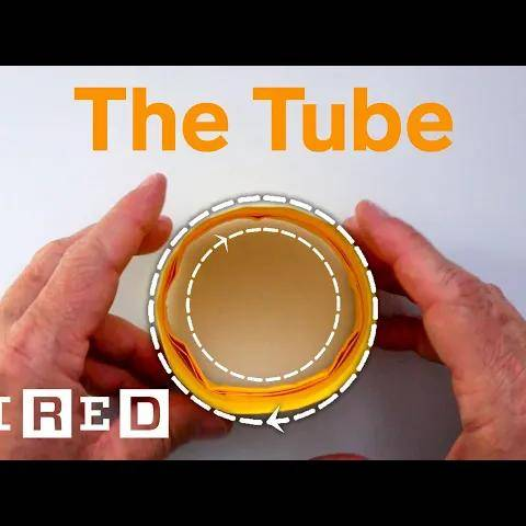 how to fold the  tube  paper airplane | wired