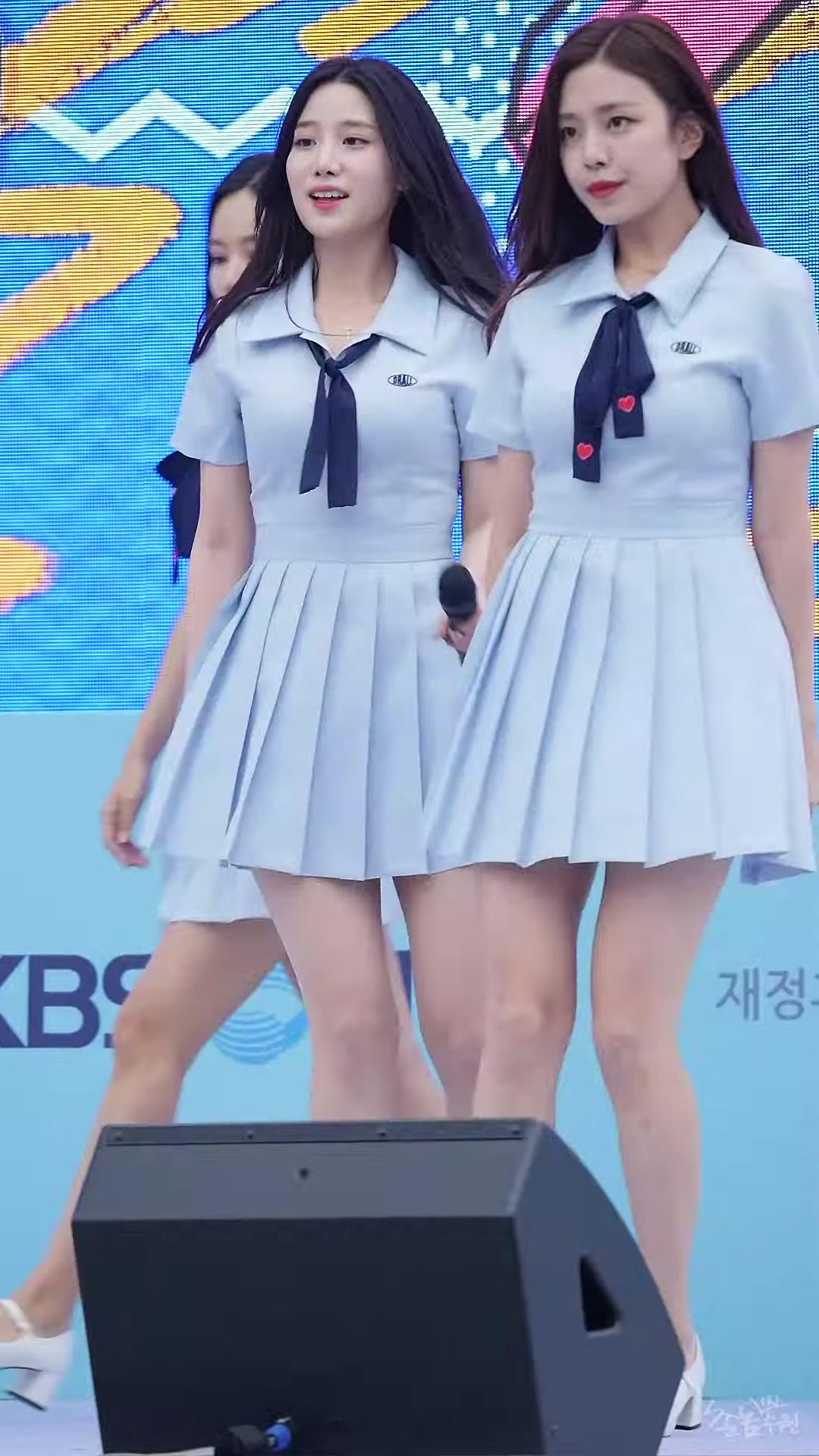 2019最新现场饭拍韩国女团BerryGood美女性感火辣热舞高清 4K