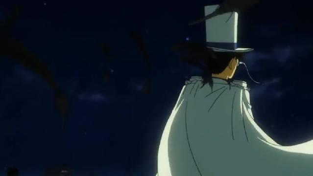 #名侦探柯南##怪盗基德#响指踩点...
