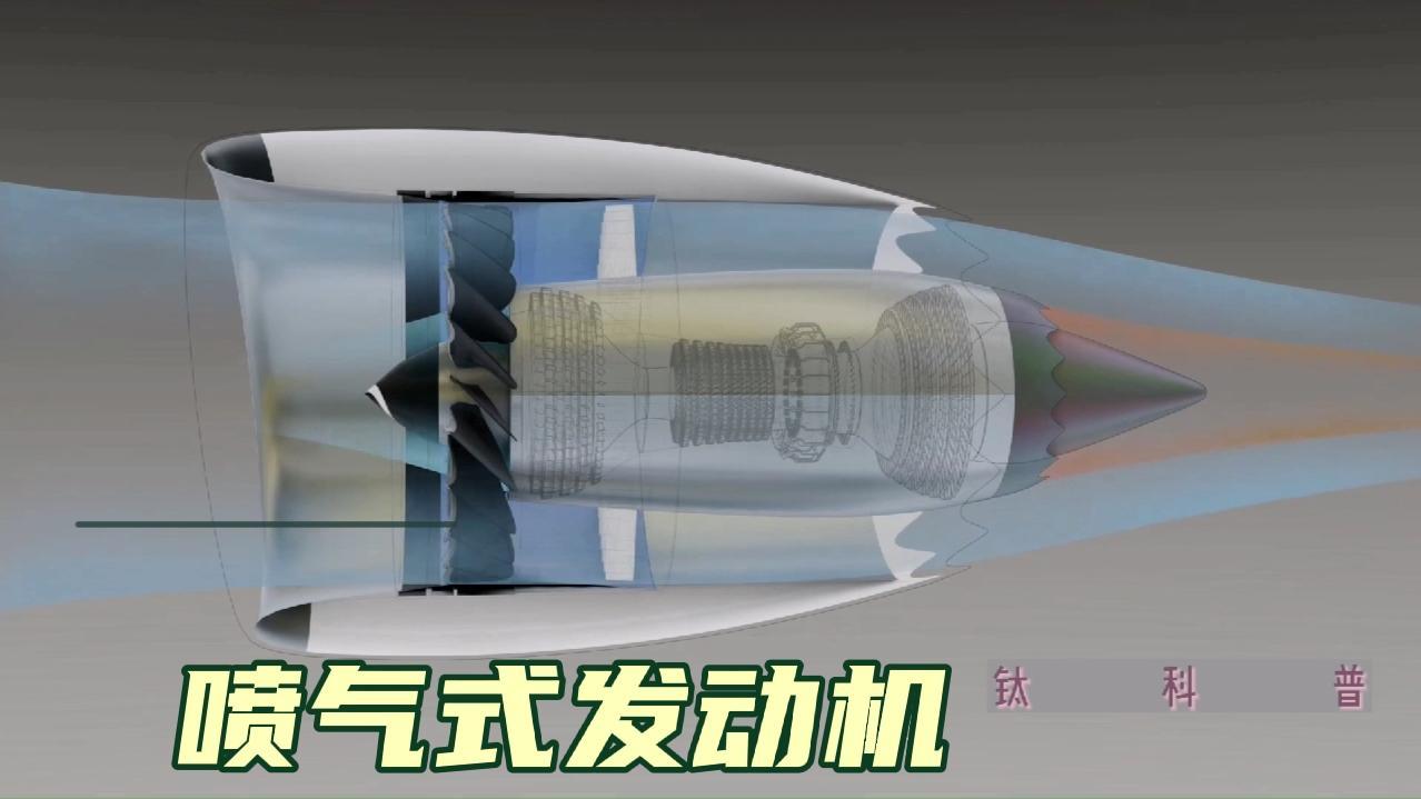 喷气式发动机如何工作? 推动上百吨的飞机全靠它! 5分钟搞懂