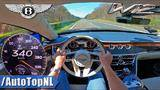 bentley flying spur *340km/h* top speed on autobahn by autotopnl