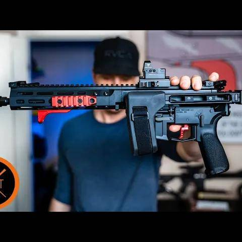 building the world s first bufferless ar pistol - part
