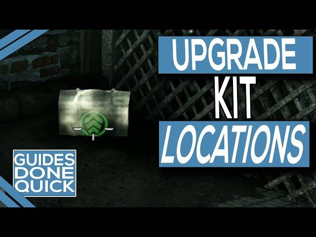 zombie army 4 molten nightmare upgrade kit locations