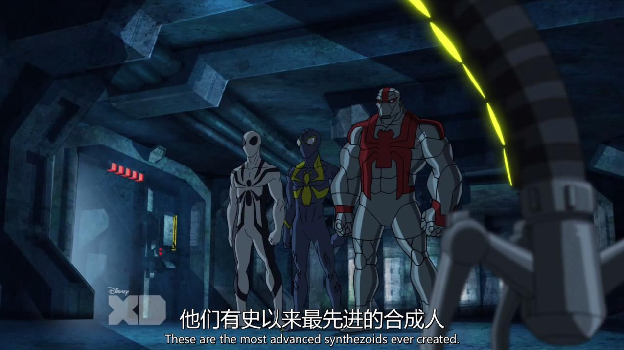 【漫威】这么多蜘蛛侠, 简直是蜘蛛侠联盟, 终极蜘蛛侠第四季E23