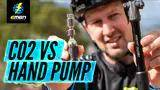 mini hand pump vs co2 canister | the pros and cons for inflation