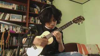 for the love of my parents,composed and played by feng e,ukulele