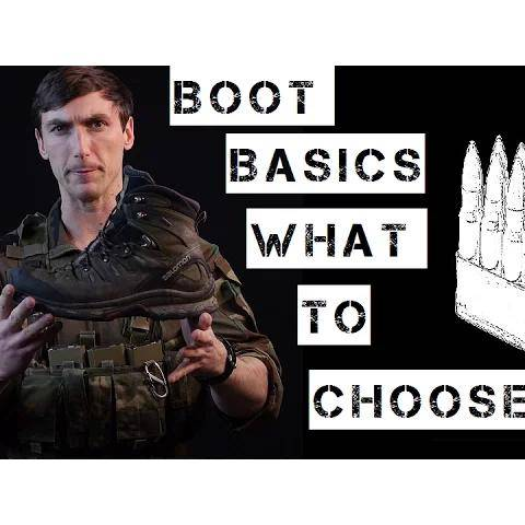 basics of  tactical  boot selection and wear.