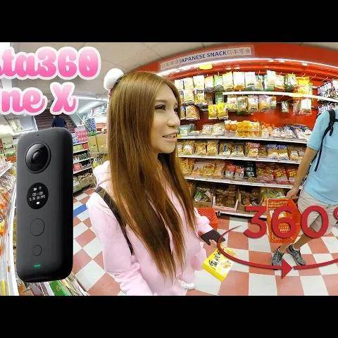 360º vr camera test- shopping in chinatown nyc