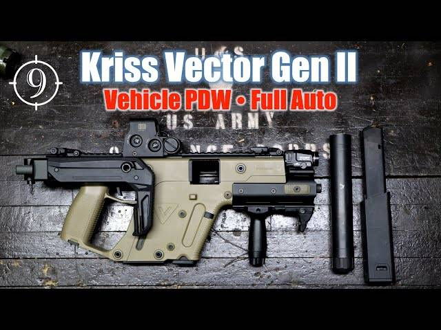 kriss vector gen ii... a pdw for vehicle / concealment [full auto] the division smg