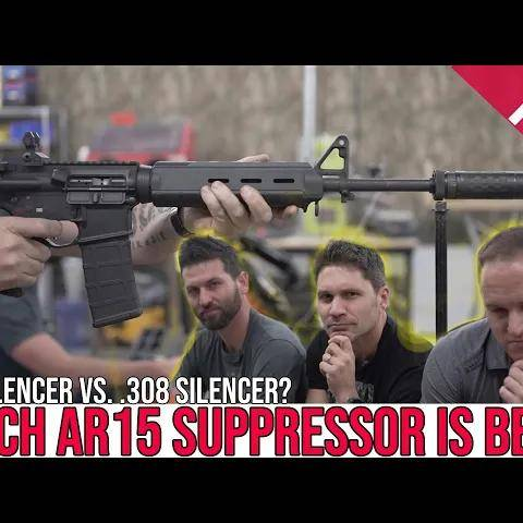 best suppressor for the ar-15?[.223 versus .308 cans]