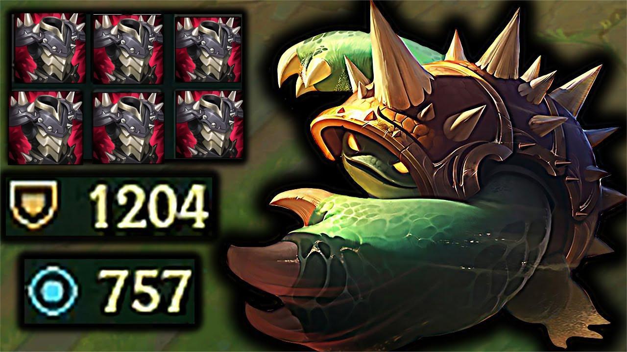 2021极限操作合集, 攻速10.0的ADC瞬间被龙龟反弹死!