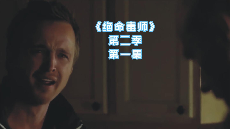 《绝命毒师》第二季第一集, 老白和小粉再次摊上大事, 惨遭追杀