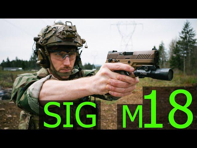the marine corps  new service pistol,sig m