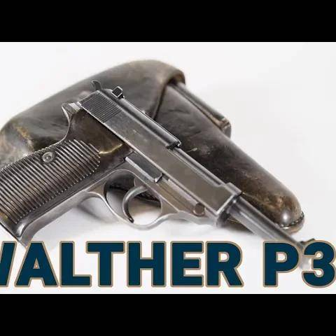 a closer look at walther p38 from the vault