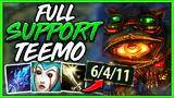 rank 1 teemo* full support teemo is an absolute beast (best new bot-laner!) - league of legends