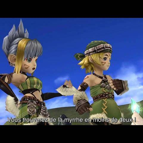 final fantasy crystal chronicles remastered edition • new features trailer • fr • ps4 switch