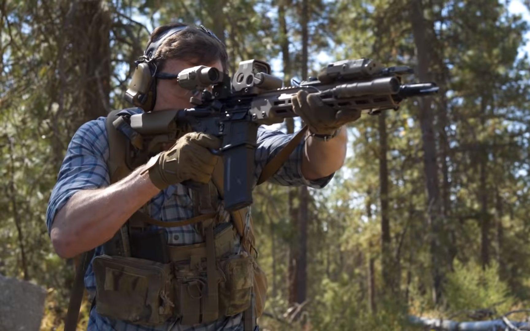 【中文字幕】Geissele URGI: 陆军特种部队的新步枪(Garand Thumb)