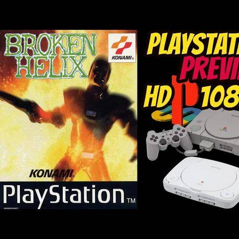 broken helix (ps1) gameplay walkthrough preview quickplay no commentary hd1080p