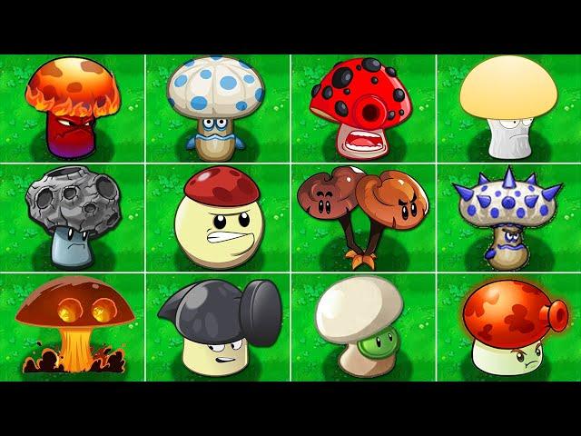 pvz mod all fume-shroom vs zombies 2 in plants vs zombies mod