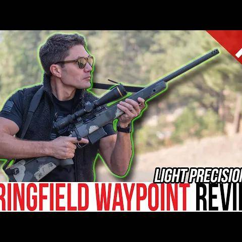 i used the new springfield waypoint in a 4-day sniper course: how d it do?