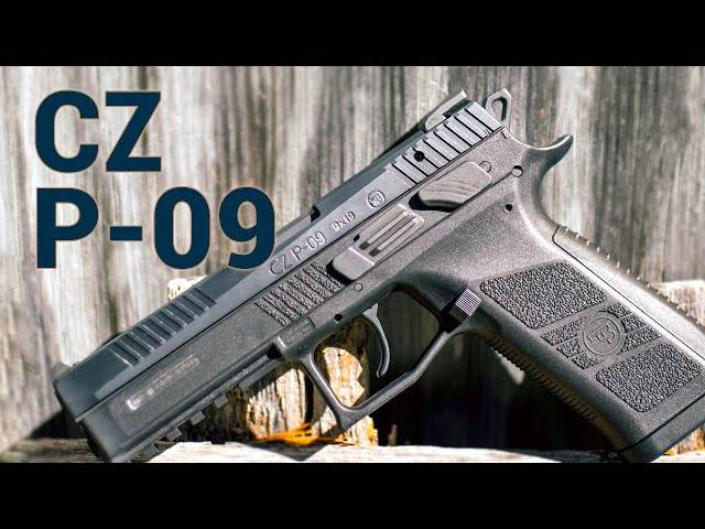 cz's first full-sized polymer pistol: the cz p