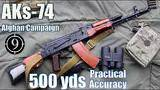 aks-74 iron sights to 500yds: practical accuracy