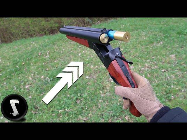 yeeting the @#%$ out of airsoft players with sawed-off shotgun
