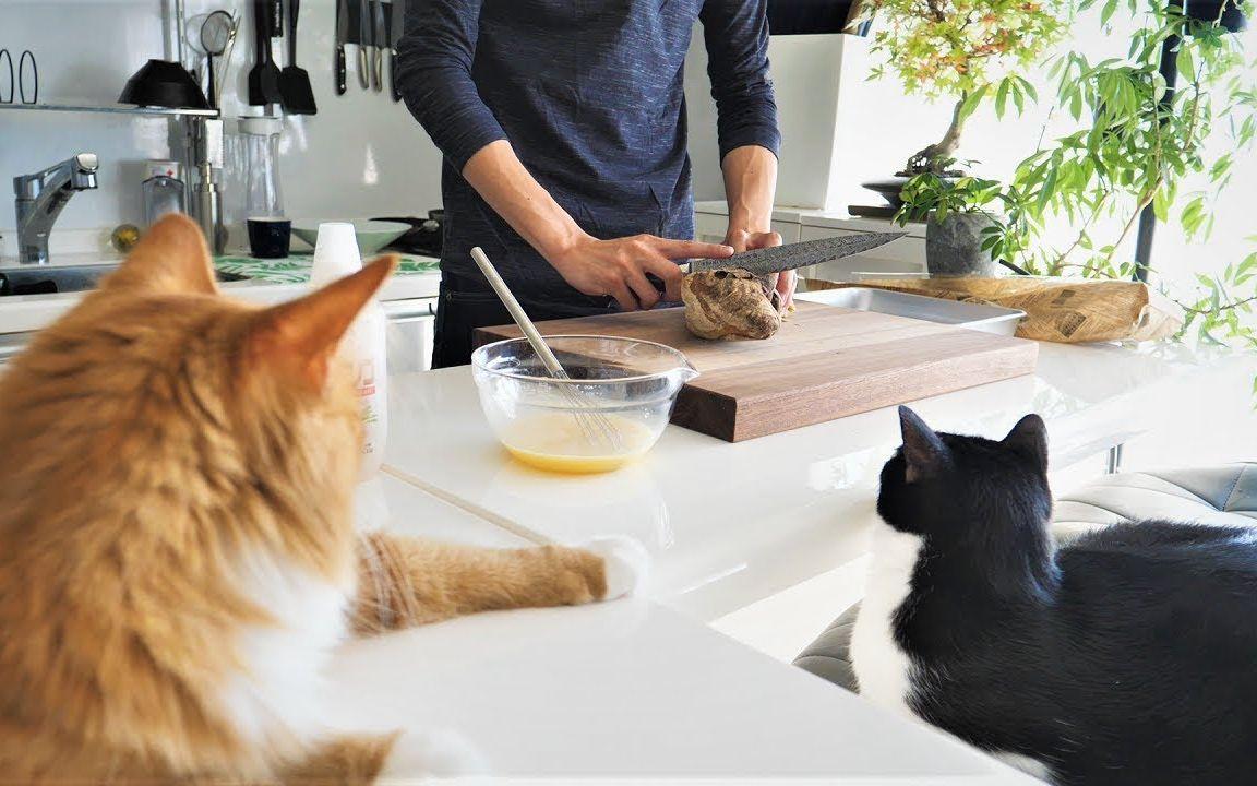 【JunsKitchen】十分钟早餐: 法棍新吃法