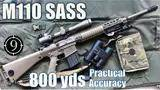 m110 sass to 800yds: practical accuracy (leupold mk4,us sniper rifle