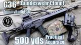 g36 (bundeswehr clone) - tommybuilt t36 to 500yds: practical accuracy