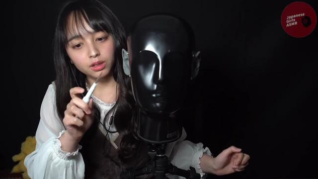 【助眠向】[ JGA] JapaneseGirls清理人头麦, 检查耳朵~