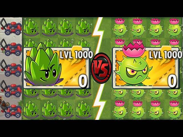 every premium plant level 1000 power-up!in plants vs zombies