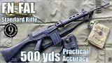 fn fal (standard) to 500yds: practical accuracy (iron sights,dsarms aka pubg slr) (milsurp