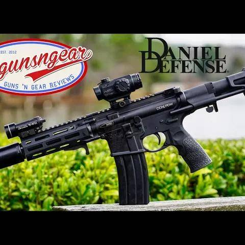 new daniel defense 300blk pdw pistol: the ultimate backpack gun!