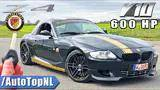 v10 powered bmw z4 e85 600hp manhart review on autobahn by autotopnl