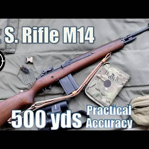 us rifle m14 to 500yds: practical accuracy (springfield armory m1a nm