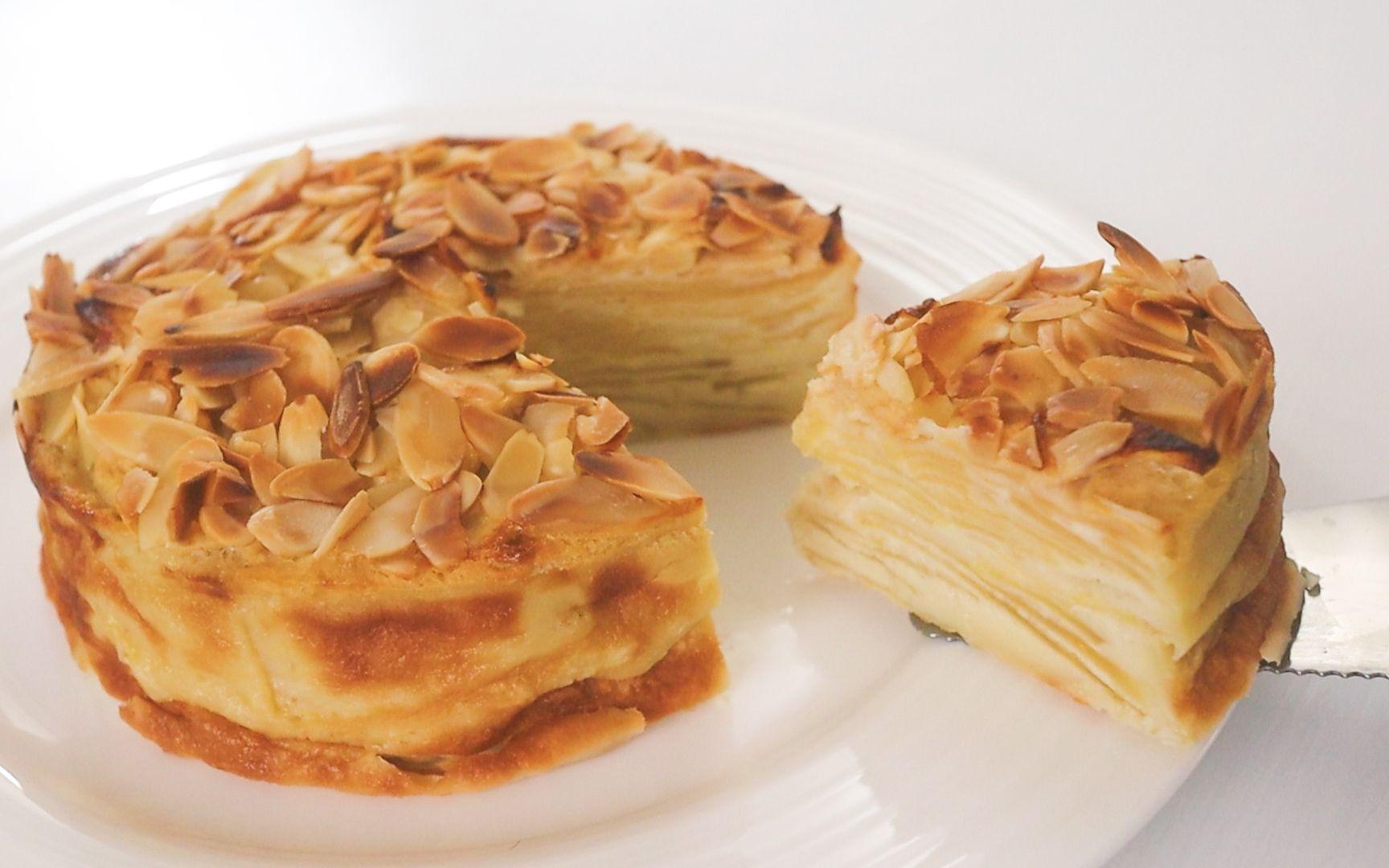 怎么做苹果蛋糕 | 低糖&低油