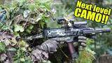 next level camouflage - ghillie suit stealth stalking - 360° airsoft gameplay