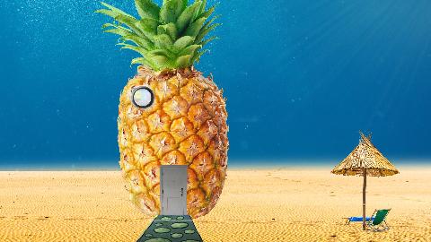 【PS合成】用PS合成海绵宝宝的菠萝屋