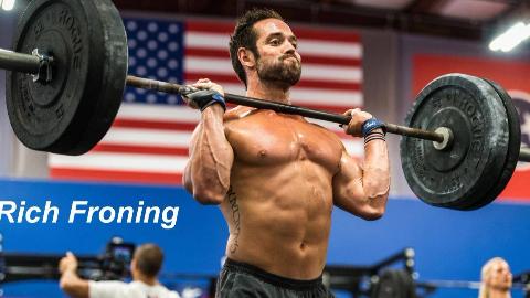 全球身体素质最强的男人,四次CrossFit冠军,感受一下!