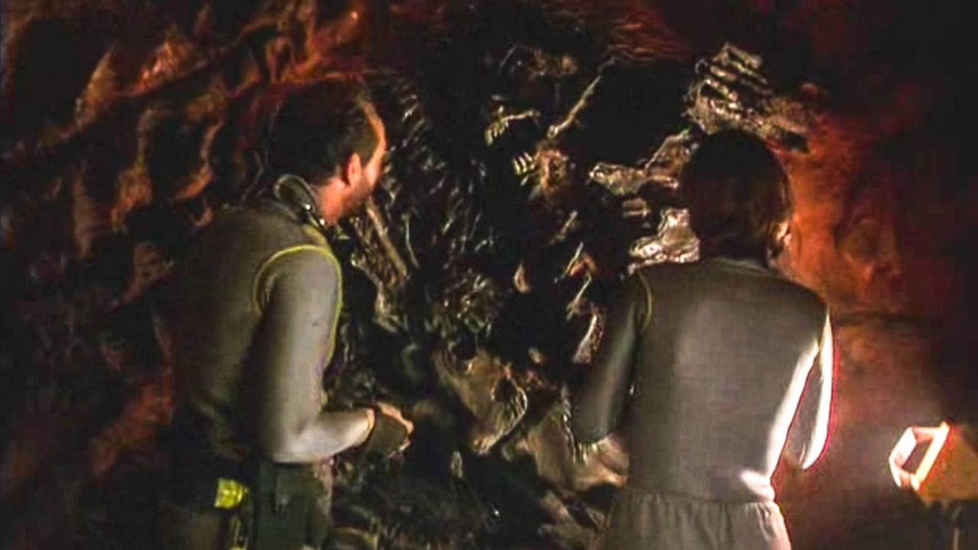 科学家炸开古怪洞穴,进入其中,没想到却释放了远古魔物