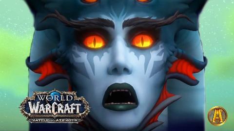 魔兽世界8.2艾萨拉的崛起 艾萨拉结局动画(及双方纳沙塔尔系列任务过场动画)