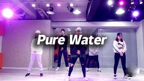 Yuna翻跳《Pure Water》,帅气酷girl【口袋舞蹈】