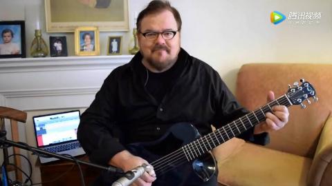 世界最著名原声吉他演奏家Don Ross极力推荐Journey OF660倬尼折叠碳纤维吉他