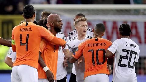 2020年欧洲杯预选赛第5轮 德国vs荷兰 全场集锦