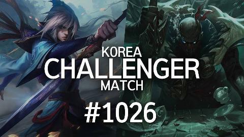 韩服最强王者的精英对决 #1026 | 下路一直来怎么玩嘛